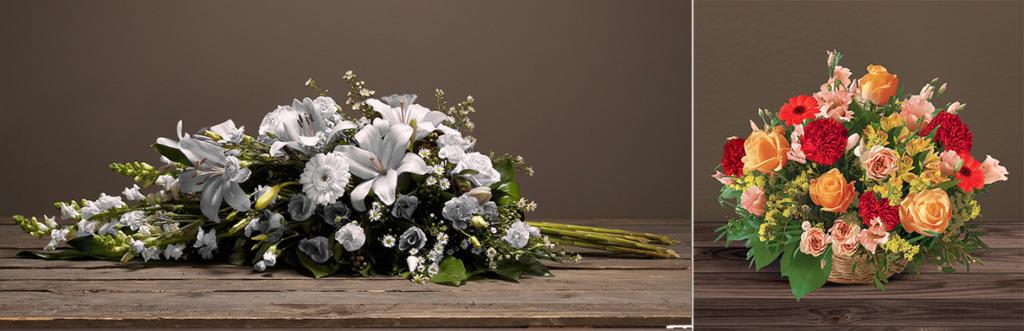 composition florale gerbe de fleur bouquet Interflora